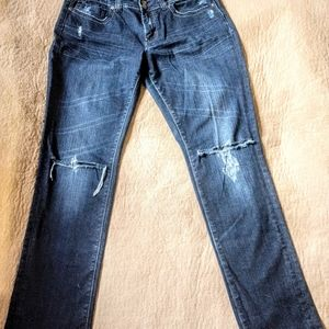 VGS Denim For All Time Ripped Skinny Jeans Sz 10